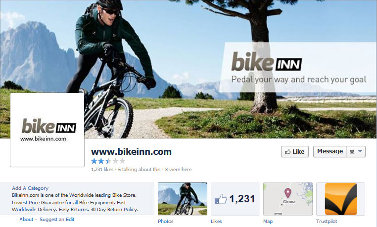 customize facebook cover page