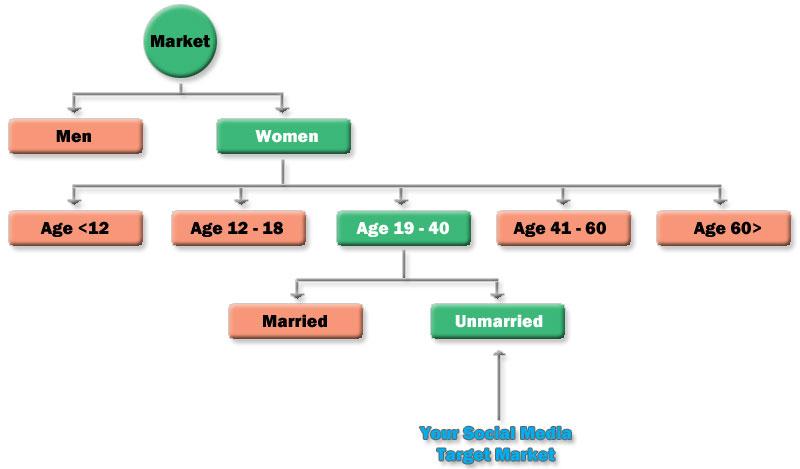 social media target market